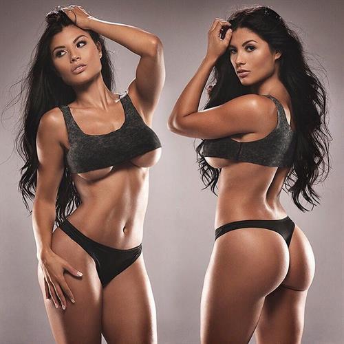 Karen Vi in a bikini - ass