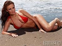Emma Kuziara in a bikini
