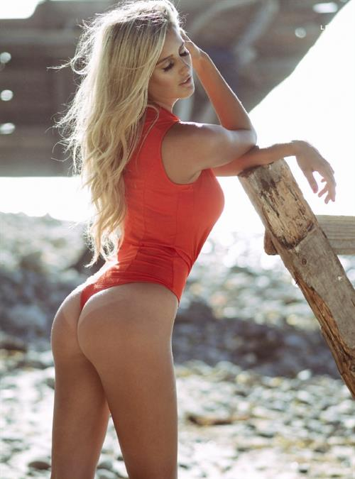 Emma Hernan in a bikini - ass
