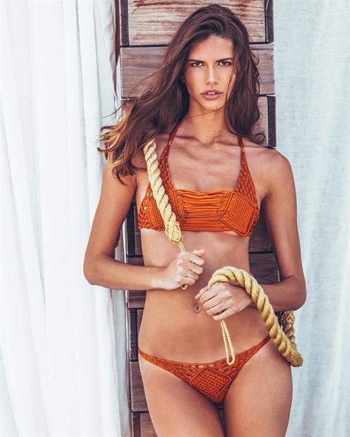 Ludovica Gardani in a bikini
