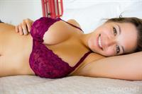 Tessa Fowler in lingerie