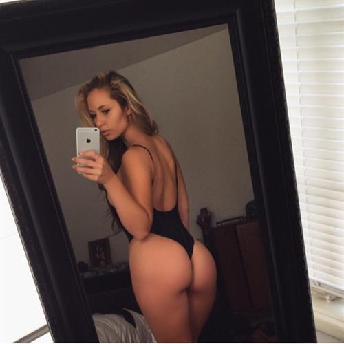 Sydney A Maler taking a selfie and - ass