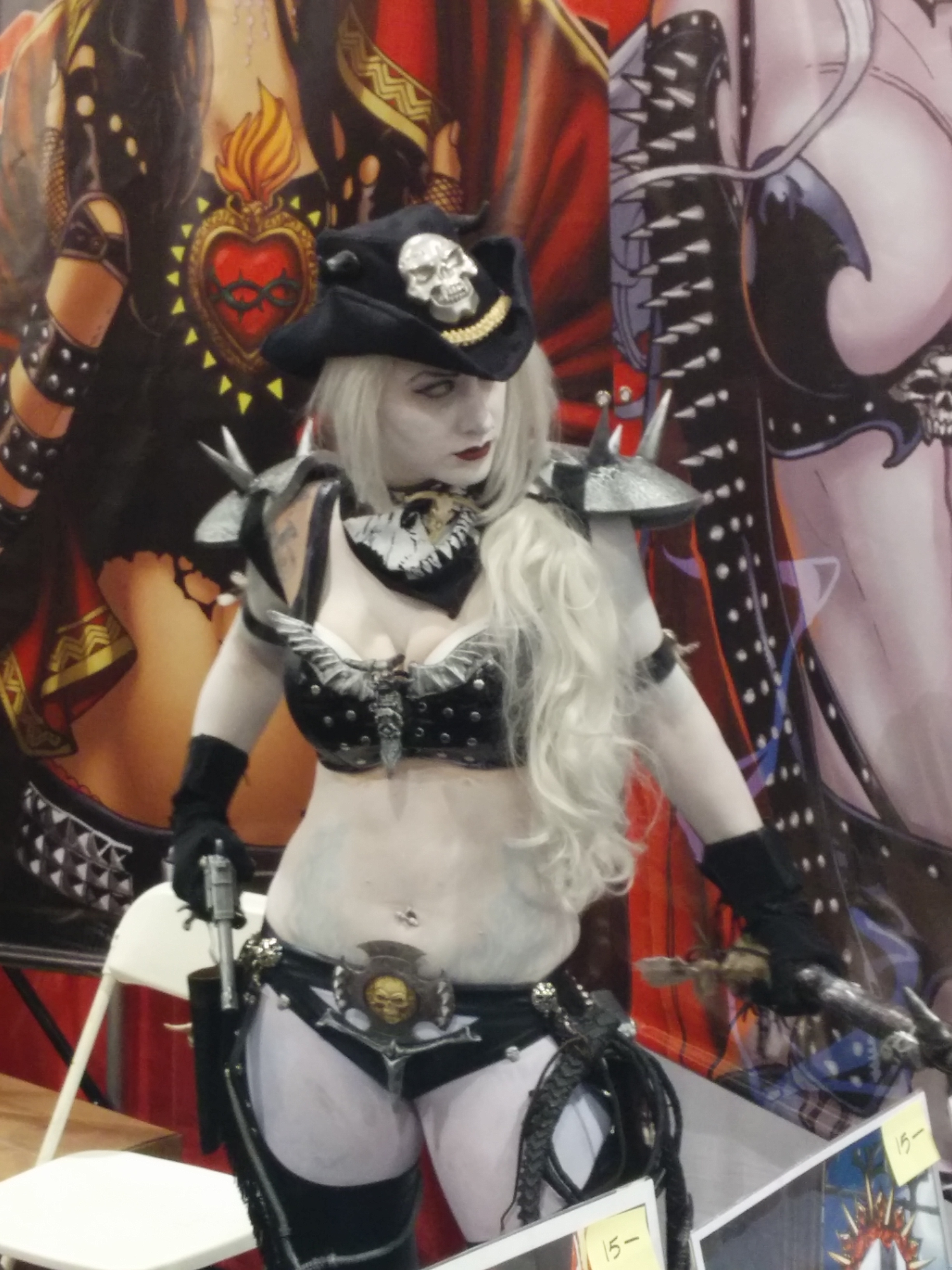 Lady Death from Phoenix Comic-Con