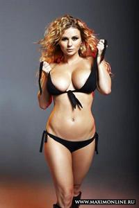 Anna Semenovich in a bikini
