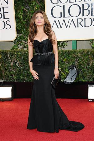 Sarah Hyland at the Golden Globe Awards