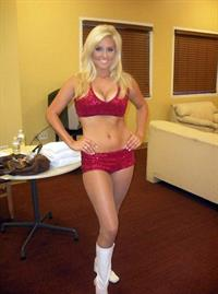 Melanie Lianne Brown in a bikini