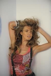 Audrina Patridge behind the scenes for the Bongo Spring 2011 campaign shoot