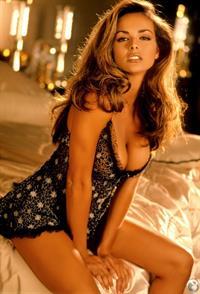 Brooke Richards in lingerie