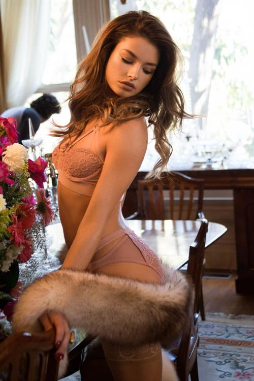 Brittany Brousseau in lingerie