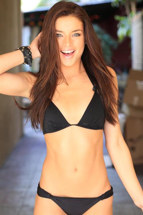 Brittany Brousseau in a bikini