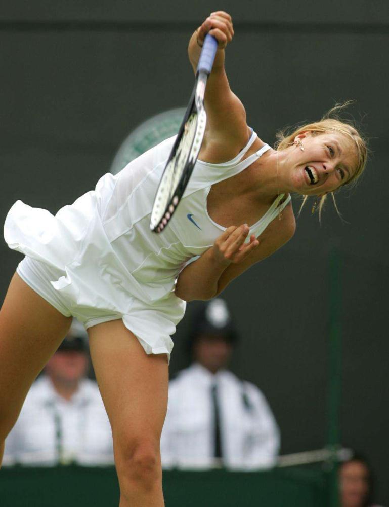 самые сексуальные падение теннисисток на карте приема питьевой соды