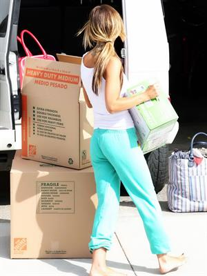 Audrina Patridge leaving her Beach House at South Bay