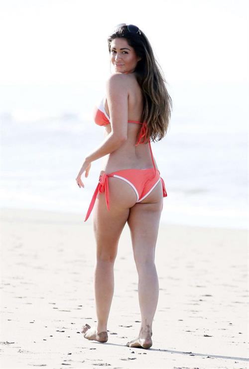 Casey Batchelor at the Pool in Marbella