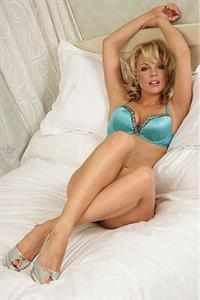 Gemma Garrett in lingerie
