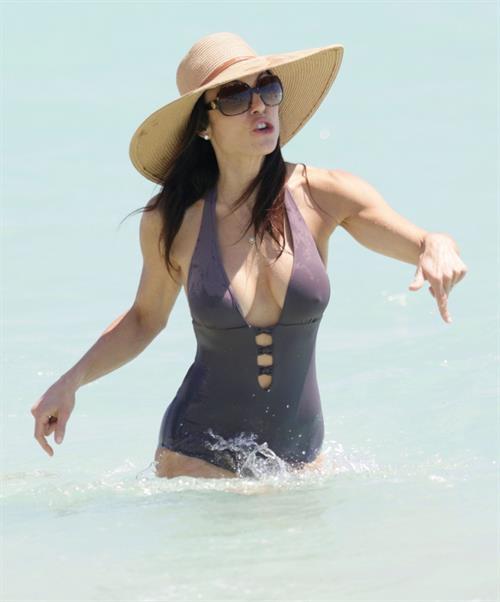 Bethenny Frankel in a bikini