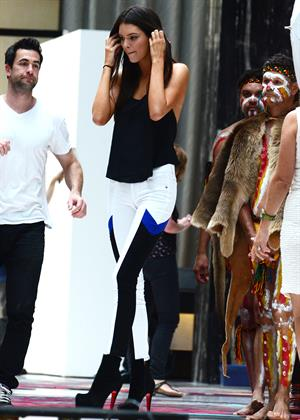 Kendall Jenner photoshoot at Darling Hotel in Sydney 11/1/12