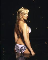 Liz McClarnon in a bikini