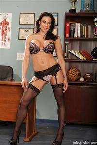 Kendra Lust in lingerie