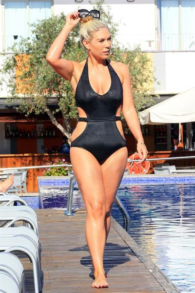 Frankie Essex in a bikini