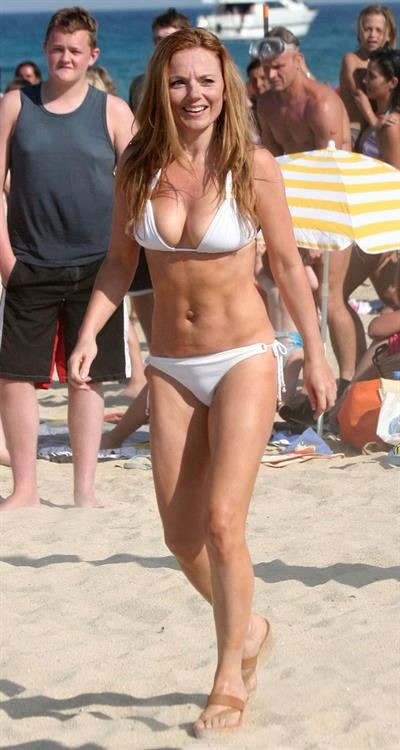 Geri Halliwell in a bikini
