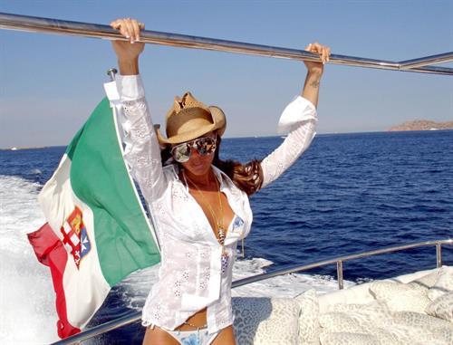 Victoria Beckham in a bikini