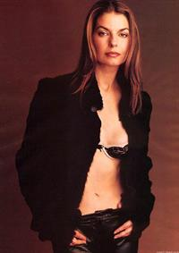 Sela Ward in lingerie