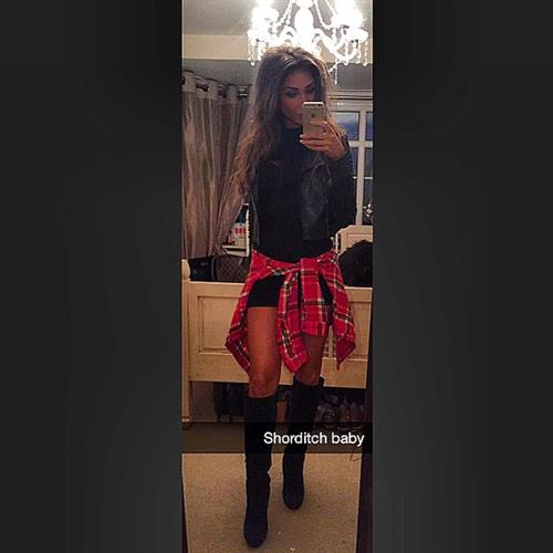Megan McKenna taking a selfie