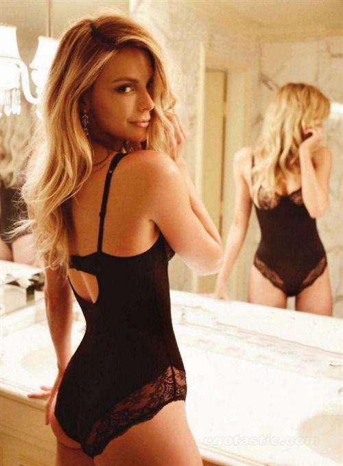Jennifer Hawkins in lingerie - ass