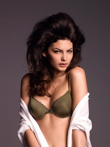 Alyssa Miller in lingerie