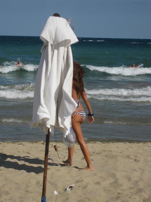 Teodora Andreeva in a bikini - ass