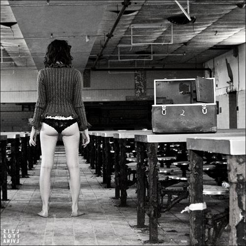 Susan Coffey in lingerie - ass