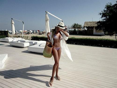 Teodora Andreeva in a bikini