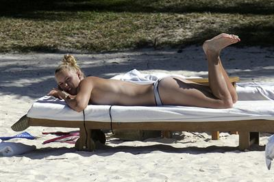 Caroline Wozniacki in a bikini