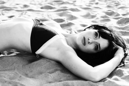 Susan Coffey in a bikini