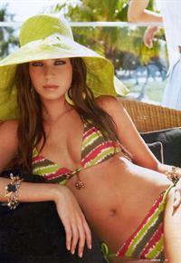 Barbara Herrera in a bikini