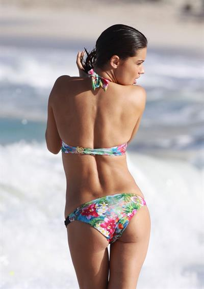 Adriana Lima in a bikini - ass