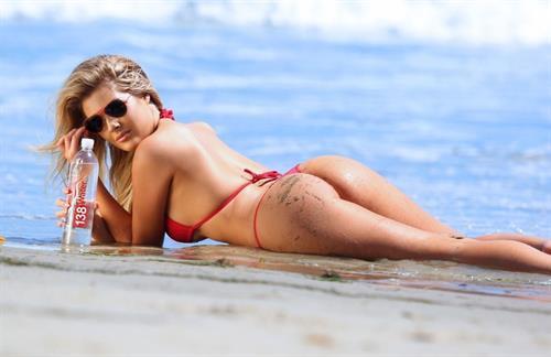 Sarah Louise Harris in a bikini - ass