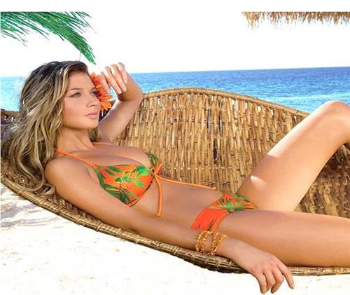 Adi Himmelbleu in a bikini