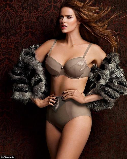 Robyn Lawley in lingerie