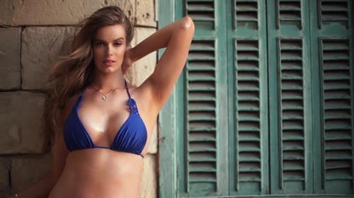 Robyn Lawley in a bikini