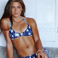 Alex Morgan in a bikini