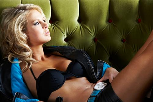 Sophie Horn in lingerie
