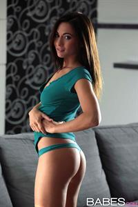 Michaela Isizzu in lingerie