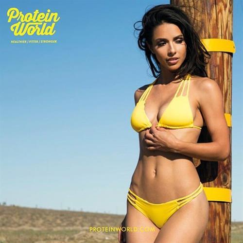 Elisa Michele Maturo in a bikini