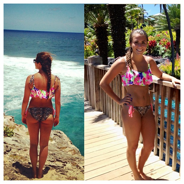 Kassidy Cook in a bikini - ass