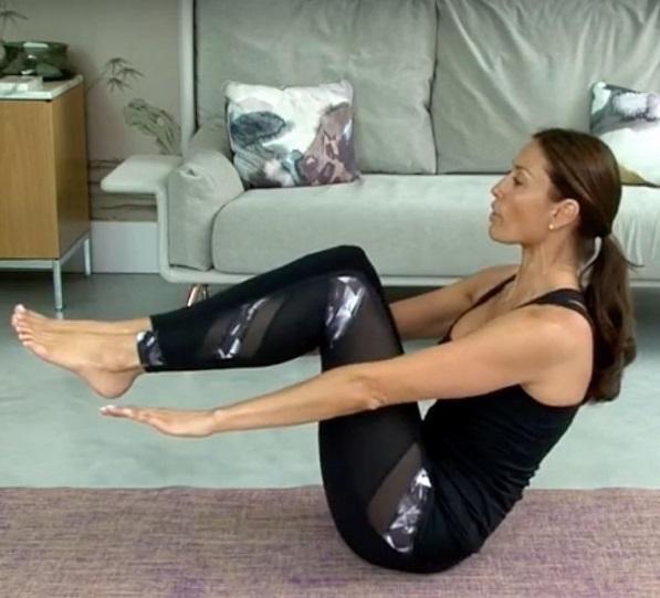 Melanie Sykes Work Out