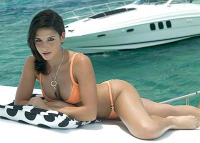 Bibiana Julian in a bikini