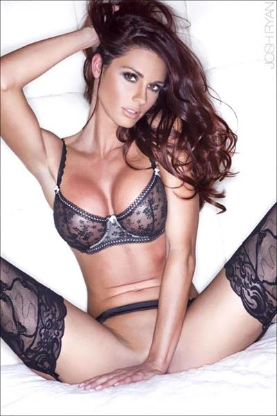 Jaime Faith Edmondson in lingerie