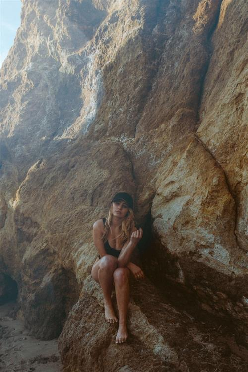 Lia Marie Johnson in a bikini