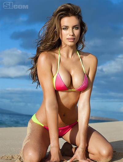 Irina Shayk in a bikini